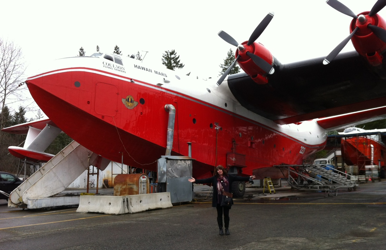 The largest float plane in the world is on the way to ...