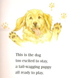 writing-dog-pattern writing