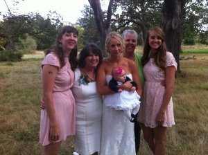 The girls in our family including baby B
